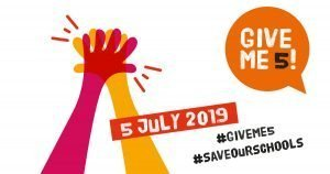 Give Me 5 - Friday 5 July