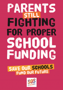 Parents STILL fighting for proper school funding
